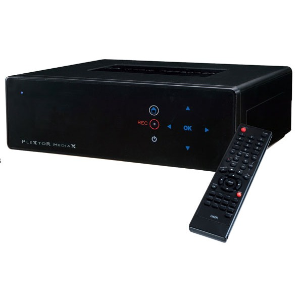 Lecteur multimédia Plextor MediaX PX-MX500L 500 Go Plextor MediaX PX-MX500L 500 Go - Jukebox Multimédia Full HD avec fonction d'enregistrement TV