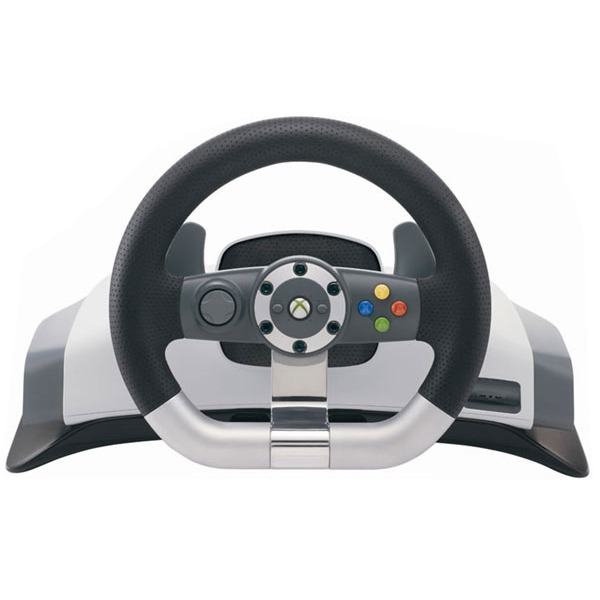 Accessoires Xbox 360 Microsoft Xbox 360 Wireless Racing Wheel Microsoft Xbox 360 Wireless Racing Wheel - Volant pour Xbox 360