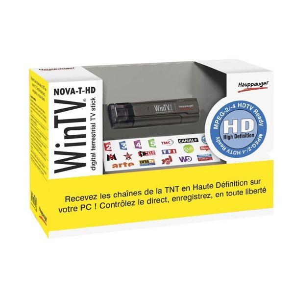 Tuner TNT USB Hauppauge WinTV-NOVA-T-HD Hauppauge WinTV-NOVA-T-HD - Stick - USB 2.0 - compatible TNT