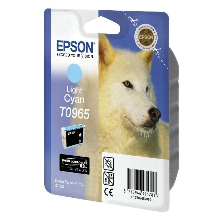 Cartouche imprimante Epson T0965 Cartouche d'encre cyan clair