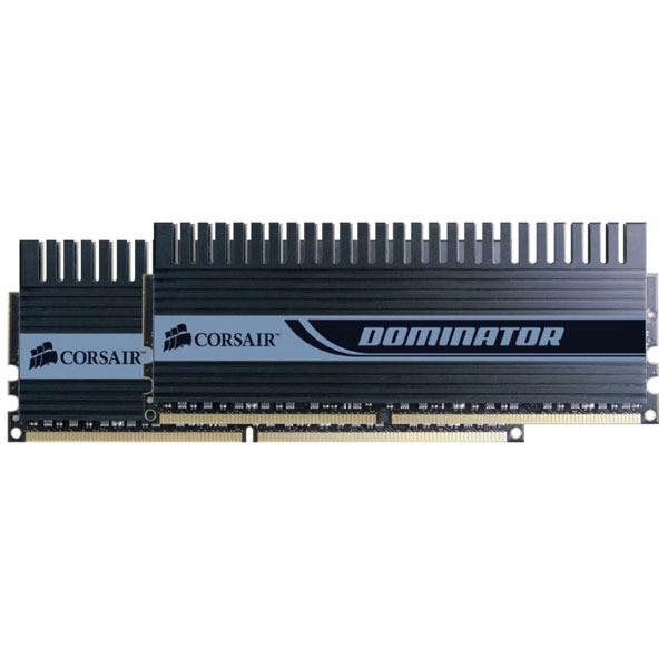 Mémoire PC Corsair Dominator 4 Go (kit 2x 2 Go) DDR2-SDRAM PC8500 CL5 - TWIN2X4096-8500C5D Corsair Dominator 4 Go (kit 2x 2 Go) DDR2-SDRAM PC8500 CL5 - TWIN2X4096-8500C5D (garantie 10 ans par Corsair)