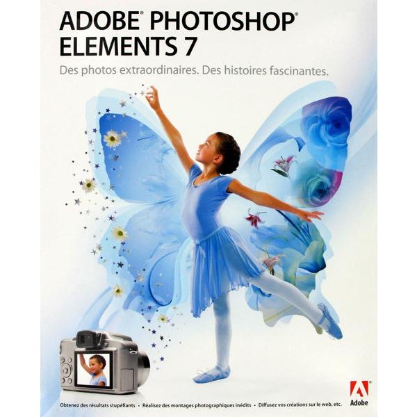 Logiciel graphisme & Photo Adobe Photoshop Elements 7 (français, WINDOWS) Adobe Photoshop Elements 7 (français, WINDOWS)