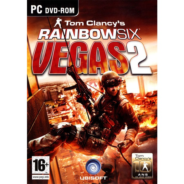 Jeux PC Tom Clancy's Rainbow Six : Vegas 2 OEM Tom Clancy's Rainbow Six : Vegas 2 - OEM (PC)