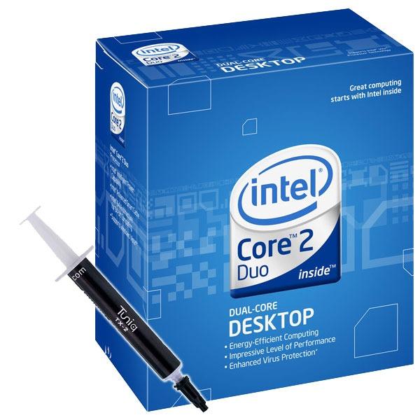 Processeur Intel Core 2 Duo E8600 - Dual Core ! (version boîte - garantie Intel 3 ans) + Pâte thermique Tuniq TX-2 Intel Core 2 Duo E8600 - Dual Core ! (version boîte) + Pâte thermique Tuniq TX-2