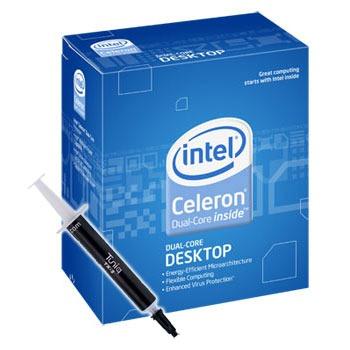 Processeur Intel Celeron Dual-Core E1400 (version boîte - garantie Intel 3 ans) + Pâte thermique Tuniq TX-2 Intel Celeron Dual-Core E1400 (version boîte) + Pâte thermique Tuniq TX-2