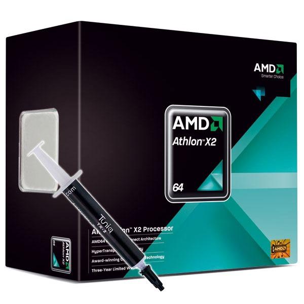 Processeur AMD Athlon 64 X2 Dual-Core 5200+ (version boîte - garantie constructeur 3 ans) + Pâte thermique Tuniq TX-2 AMD Athlon 64 X2 Dual-Core 5200+ (version boîte) + Pâte thermique Tuniq TX-2