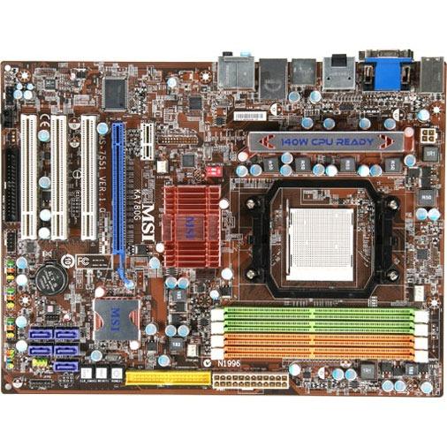 Carte mère MSI KA780G MSI KA780G (AMD 780G) - ATX