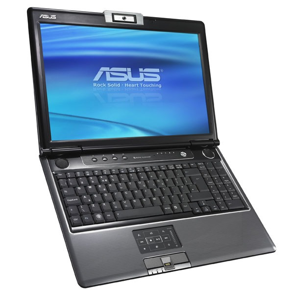 "PC portable ASUS M50Vc-AS082C ASUS M50Vc-AS082C - Intel Core 2 Duo T5800 3 Go 250 Go 15.4"" TFT Graveur DVD Super Multi DL Wi-Fi N Webcam WVFP"