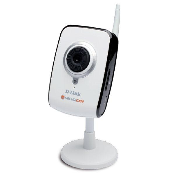Caméra IP D-Link DCS-2121 D-Link DCS-2121 - Caméra Internet/Sécurité sans fil 54 Mbps - compatible 3G