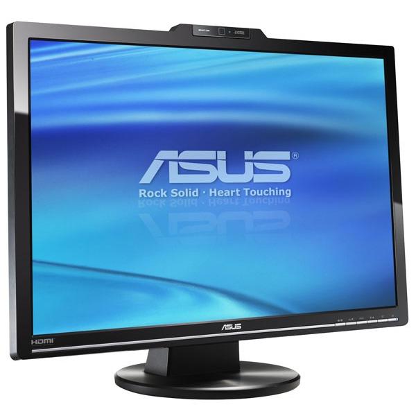 """Ecran PC ASUS VK266H ASUS 26"""" LCD - VK266H - 2 ms - Format large 16/10 - Webcam 2.0 Megapixels - Noir (garantie constructeur 3 ans)"""