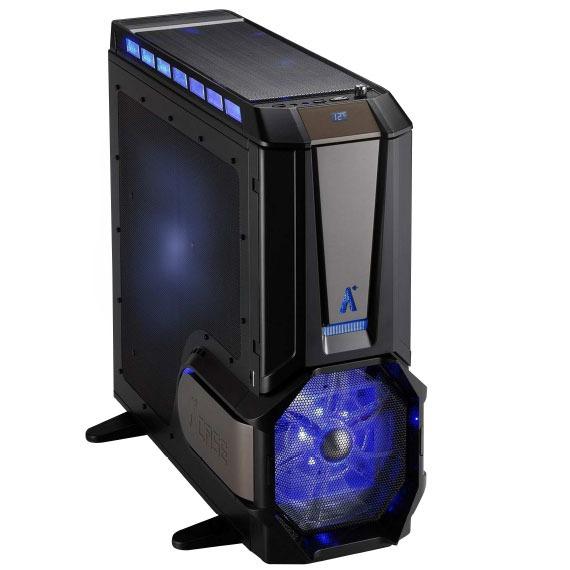 Boîtier PC A+ Case CS-El Diablo Advance A+ Case CS-El Diablo Advance avec 1 ventilateur latéral 330 mm et 1 ventilateur frontal 250 mm - ATX - Noir