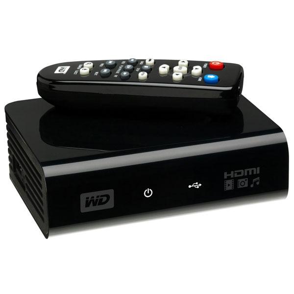 Lecteur multimédia Western Digital WDAVP00BE Western Digital WD TV - Mediaplayer TV HD pour disque dur externe USB 2.0 - (garantie 2 ans)