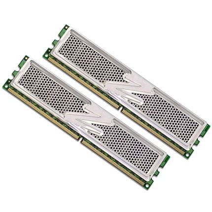 Mémoire PC OCZ OCZ2P800EB4GK OCZ Platinum Enhanced Bandwidth Edition 4 Go (kit 2x 2Go) DDR2-SDRAM PC2-6400 - OCZ2P800EB4GK (garantie 10 ans par OCZ)