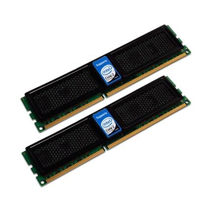 Mémoire PC OCZ OCZ3X13334GK OCZ Intel Extreme Edition XMP 4 Go (kit 2x 2 Go) DDR3-SDRAM PC3-12800 - OCZ3X13334GK (garantie 10 ans par OCZ)