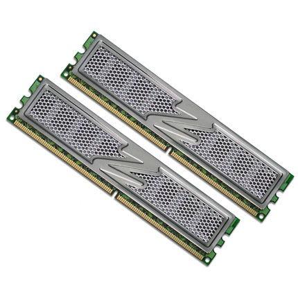 Mémoire PC OCZ OCZ2T8002GK OCZ Titanium Edition 2 Go (kit 2x 1 Go) DDR2-SDRAM PC2-6400 - OCZ2T8002GK (garantie 10 ans par OCZ)