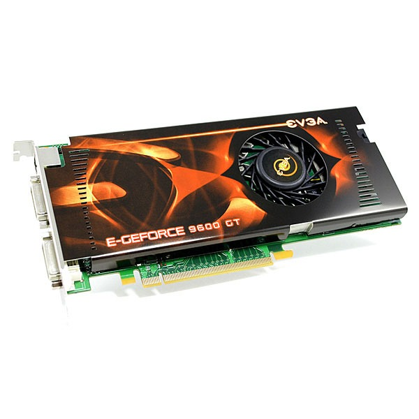 Carte graphique EVGA e-GeForce 9600 GT - 512 Mo EVGA e-GeForce 9600 GT - 512 Mo TV-Out/Dual DVI - PCI-Express (NVIDIA GeForce 9600 GT)