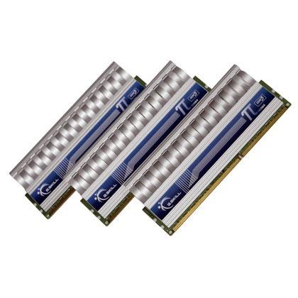 Mémoire PC G.Skill PI Series 3 Go (kit 3x 1 Go) DDR3-SDRAM PC3-15000 - F3-15000CL9T-3GBPI G.Skill PI Series 3 Go (kit 3x 1 Go) DDR3-SDRAM PC3-15000 - F3-15000CL9T-3GBPI (garantie 10 ans par G.Skill)