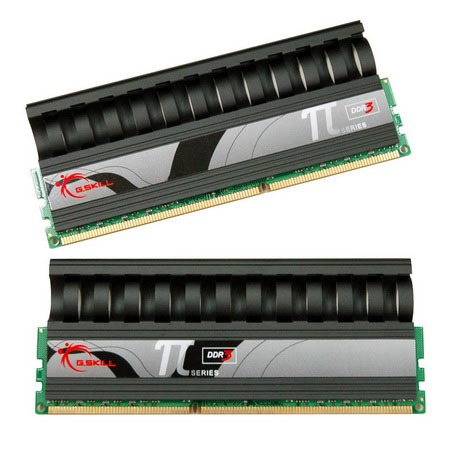 Mémoire PC G.Skill PI Black Series 4 Go (kit 2x 2 Go) DDR3-SDRAM PC3-14400 - F3-14400CL8D-4GBPI-B G.Skill PI Black Series 4 Go (kit 2x 2 Go) DDR3-SDRAM PC3-14400 - F3-14400CL8D-4GBPI-B (garantie 10 ans par G.Skill)