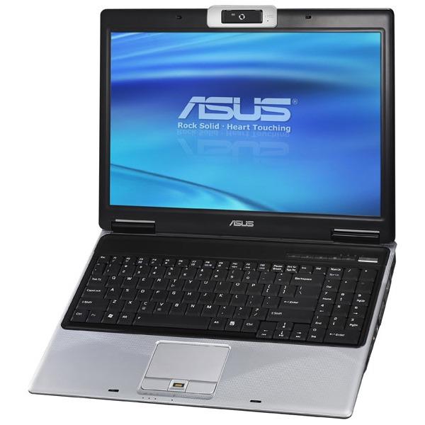 """PC portable ASUS M51Tr-AS082C ASUS M51Tr-AS082C - AMD Turion 64 X2 RM-72 3 Go 250 Go 15.4"""" TFT Graveur DVD Super Multi DL Wi-Fi N Webcam WVFP"""