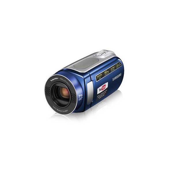 Caméscope numérique Samsung VP-MX20 Samsung VP-MX20 - Caméscope Carte mémoire (coloris bleu)