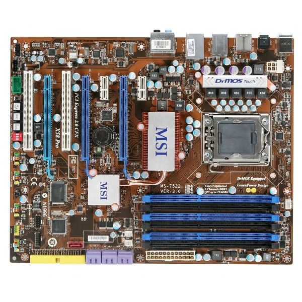 Carte mère MSI X58-Pro MSI X58-Pro (Intel X58 Express) - ATX