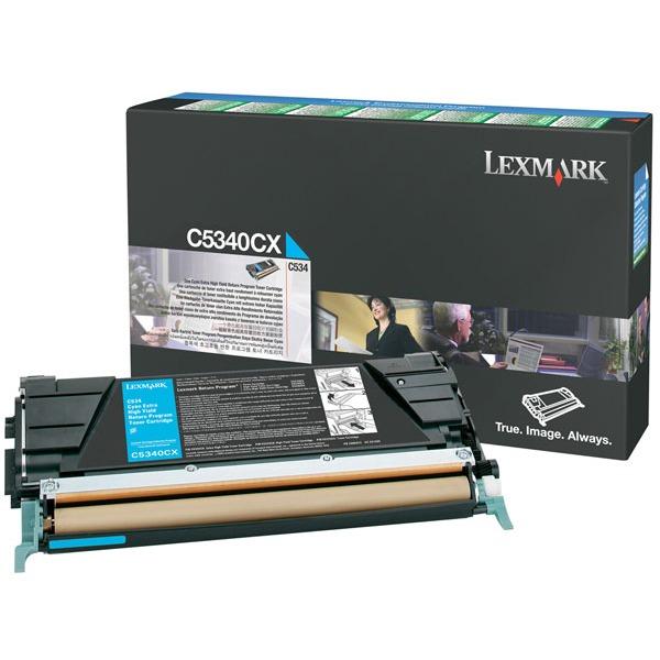 Toner imprimante Lexmark C5340CX Toner Cyan (7 000 pages à 5%)