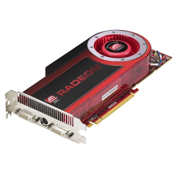 Carte graphique ATI Radeon HD 4870 - 1 Go TV-Out/Dual DVI - PCI Express (ATI Radeon HD 4870) ATI Radeon HD 4870 - 1 Go TV-Out/Dual DVI - PCI Express