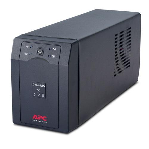 Onduleur APC Smart-UPS SC 620VA APC Smart-UPS SC 620VA - Onduleur line-interactive monophasé 230V (Série)