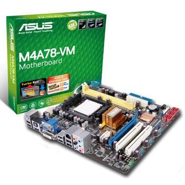 Carte mère ASUS M4A78-VM ASUS M4A78-VM (AMD 780G) - Micro ATX - (garantie 3 ans)