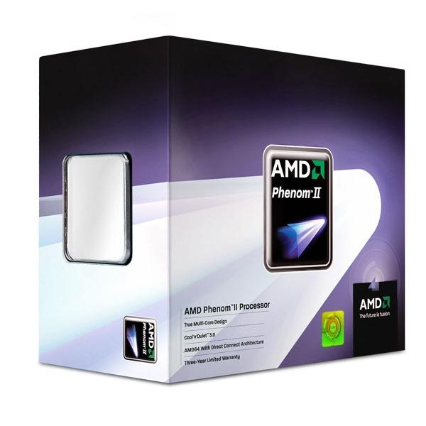 Processeur AMD Phenom II X4 945 AMD Phenom II X4 945 - Quad Core Socket AM3 0.045 micron Cache L2 2 Mo Cache L3 6 Mo (version boîte - garantie constructeur 3 ans)