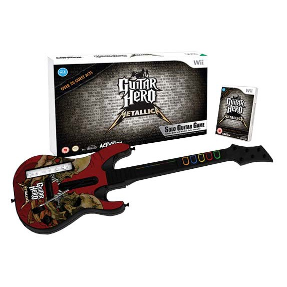 LDLC.com Guitar Hero Metallica + Guitare (Wii) Guitar Hero Metallica + Guitare (Wii)