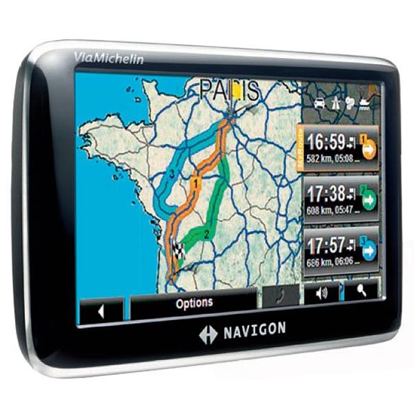GPS Navigon 4350 max Navigon 4350 max - Solution GPS autonome (Carte Europe)