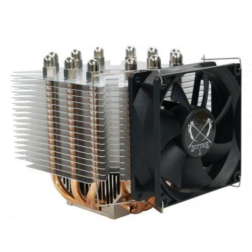 Ventilateur processeur Scythe Ninja Mini Rev.B Scythe Ninja Mini Rev.B - Ventilateur pour Socket AMD 754/939/940/AM2/AM2+ et Intel socket 478/775/1366