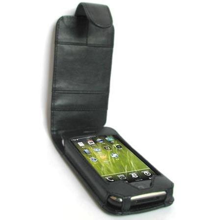 Etui téléphone SKPAD SKP-FLIP-HT21 Etui noir pour HTC Dream