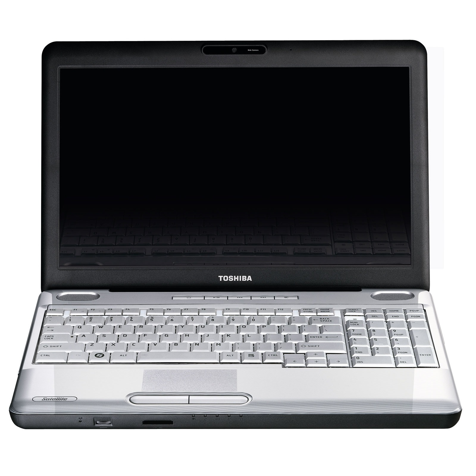 "PC portable Toshiba Satellite L500-13Z Toshiba Satellite L500-13Z - Intel Pentium Dual-Core T4200 4 Go 500 Go 15.6"" TFT Graveur DVD Super Multi DL Wi-Fi N Webcam WVFB"