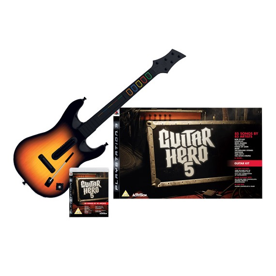 LDLC.com Guitar Hero 5 + Guitare (PS3) Guitar Hero 5 + Guitare (PS3)