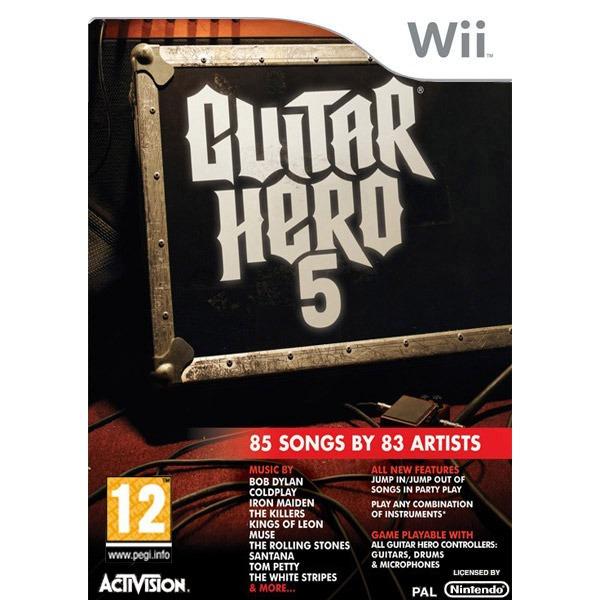 LDLC.com Guitar Hero 5 (Wii) Guitar Hero 5 (Wii)