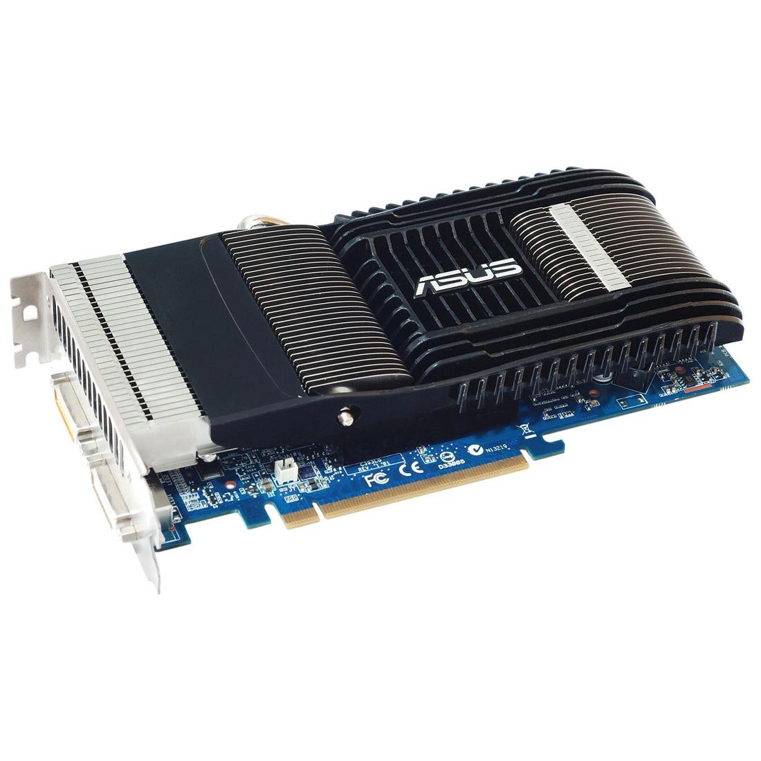 Carte graphique ASUS EN9600GT SILENT/2D/512MD3 ASUS EN9600GT SILENT/2D/512MD3 - 512 Mo Dual DVI - PCI Express (NVIDIA GeForce avec CUDA 9600 GT) - (garantie 3 ans)