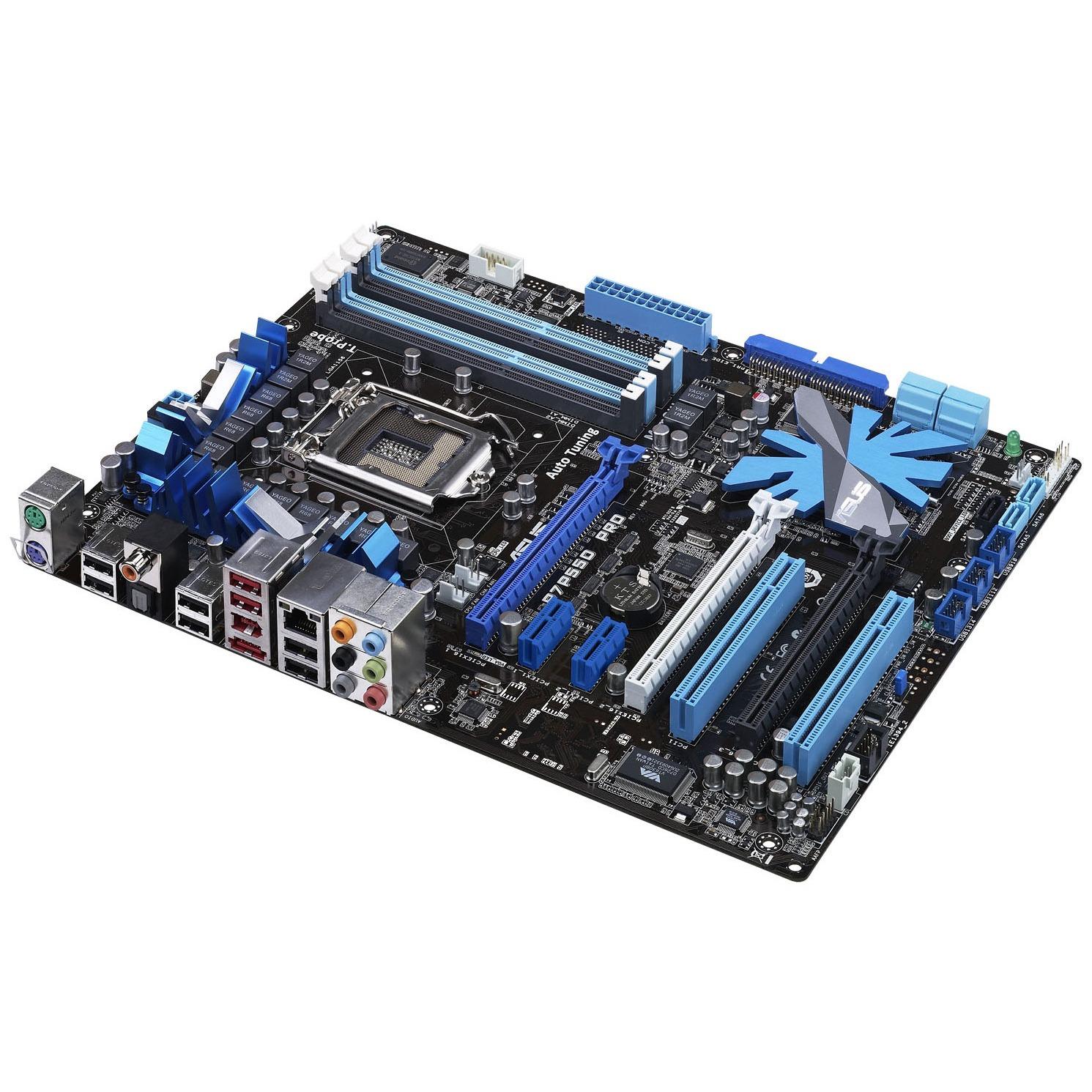 Carte mère ASUS P7P55D PRO ASUS P7P55D PRO (Intel P55 Express) - ATX - (garantie 3 ans)