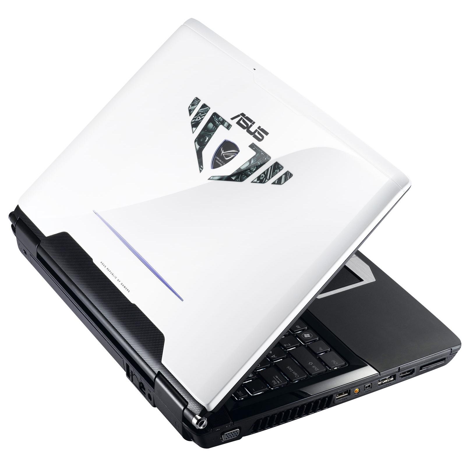 """PC portable ASUS G60Vx-JX038C ASUS G60Vx-JX038C - Intel core 2 Quad Q9000 4 Go 1 To (2x 500 Go) 16"""" TFT Graveur DVD Super Multi DL Wi-Fi N/Bluetooth Webcam WVFP"""