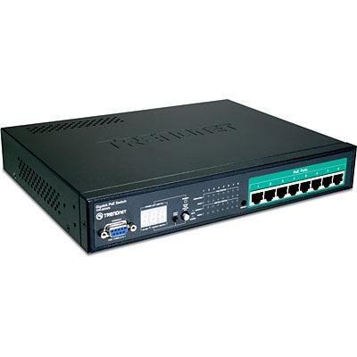 Switch TRENDnet TPE-80WS TRENDnet TPE-80WS - Switch 8 ports 10/100/1000 Mbps PoE