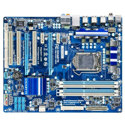 Carte mère Gigabyte GA-P55-UD3 Gigabyte GA-P55-UD3 (Intel P55 Express) - ATX