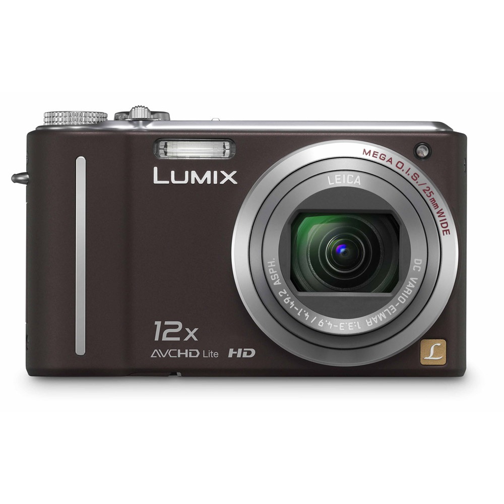 Appareil photo numérique Panasonic Lumix DMC-TZ7EF-T Chocolat Panasonic Lumix DMC-TZ7EF-T Chocolat