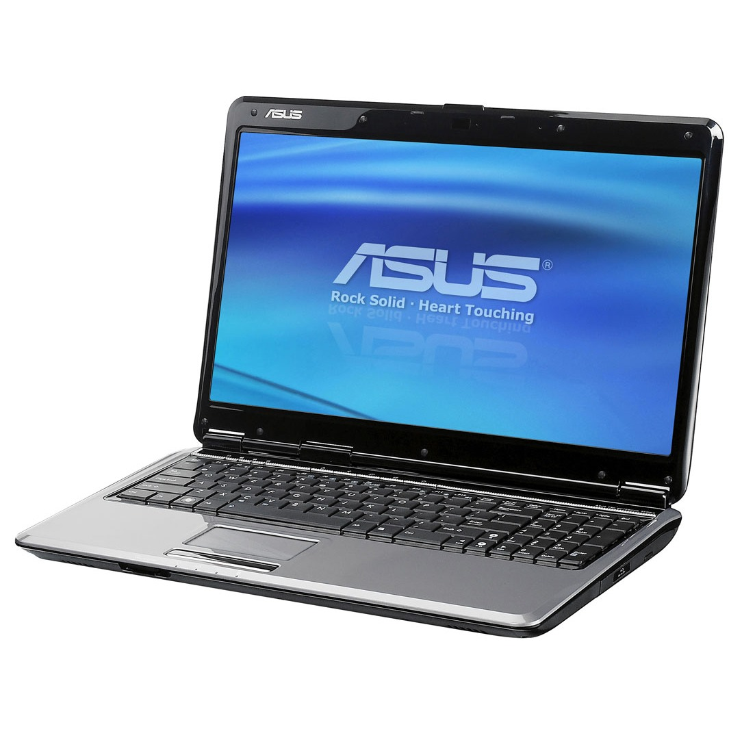 """PC portable ASUS F50Q-6X046C ASUS F50Q-6X046C - Intel Pentium Dual-Core T4200 4 Go 320 Go 16"""" TFT Graveur DVD Super Multi DL Wi-Fi N Webcam Vista Premium"""