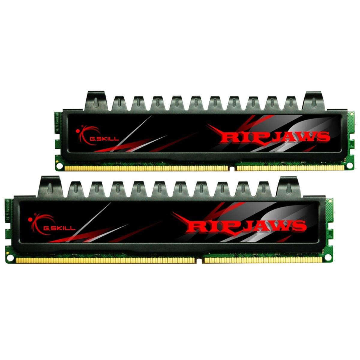 Mémoire PC G.Skill RH Series RipJaws 4 Go (2x 2Go) DDR3 1333 MHz G.Skill RH Series RipJaws 4 Go (kit 2x 2 Go) DDR3-SDRAM PC3-10666 - F3-10666CL7D-4GBRH (garantie 10 ans par G.Skill)