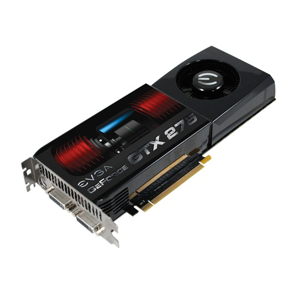 "Carte graphique EVGA e-GeForce GTX 275 ""Superclocked"" - 896 Mo EVGA e-GeForce GTX 275 ""Superclocked"" - 896 Mo TV-Out/Dual DVI - PCI-Express (NVIDIA GeForce avec CUDA GTX 275)"