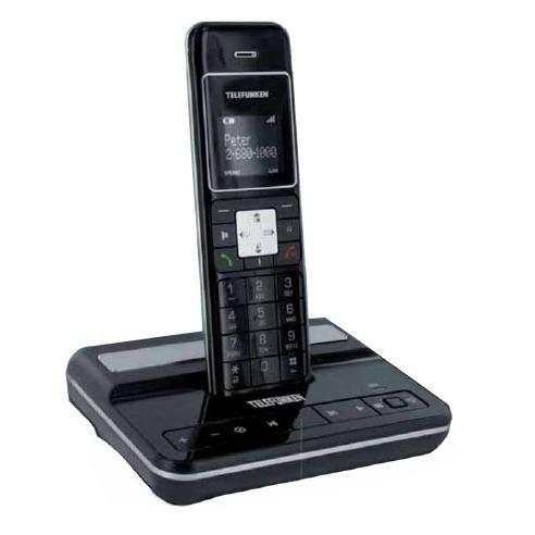 Téléphone sans fil TELEFUNKEN DECT TC151 TELEFUNKEN DECT TC151 - Téléphone sans fil DECT avec répondeur (version française)