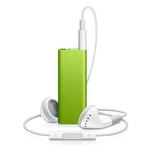 Lecteur MP3 & iPod Apple iPod shuffle 2 Go Apple iPod shuffle 2 Go (coloris vert)