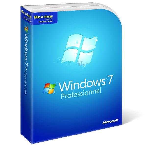 Windows Microsoft Windows 7 Professionnel - Mise à jour Microsoft Windows 7 Professionnel - Mise à jour (français)