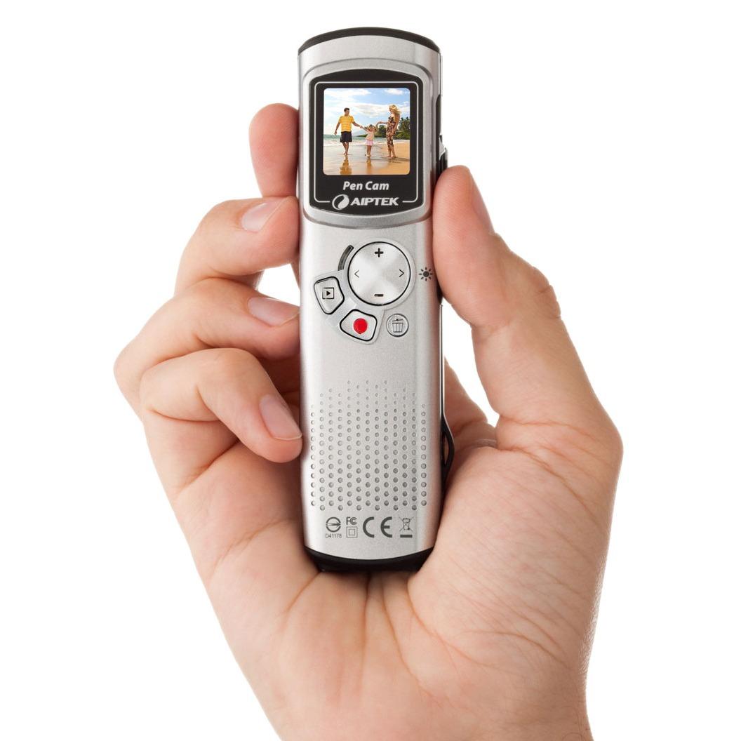 Caméscope numérique Aiptek PenCam HD Aiptek PenCam HD - Caméscope HD à mémoire intégrée avec sortie HDMI